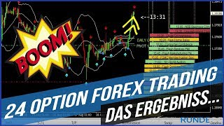24 Option Forex Trading - Das Ergebniss...