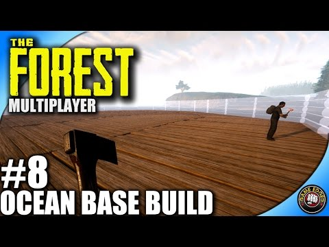 The Forest Let's Play EP08 - Ocean Base Build - Multiplayer W/ Kage848 (S2)