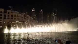 Burj Khalifa water dance Arabic song