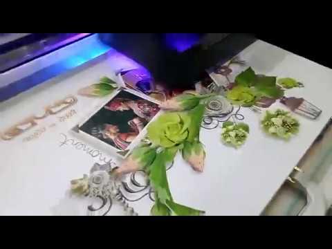Wedding Photo Album Cover Design Printing Machine