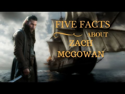 Meet the Actor: Zach McGowan Captain Charles Vane from Black Sails