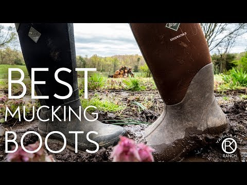 Best Mucking Boots On Earth   Tested By Muckers For Muckers