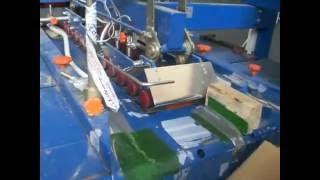 Склейка маленьких коробок на полуавтомате СГ-2(Небольшая