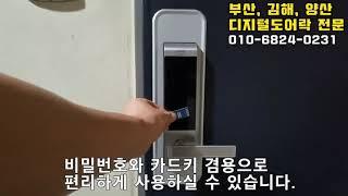 부산 남구 용호동 일신님2 아파트 현관문 게이트맨 도어…