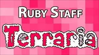 Ruby Staff - Terraria Weapon