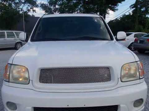 2003 Toyota Sequoia 4dr SR5 (Natl) (Spartanburg, South Carolina)