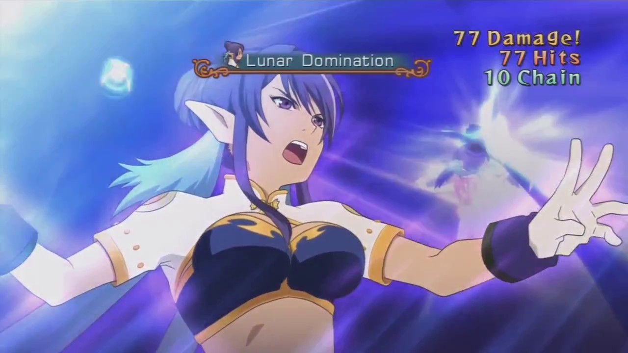 Undying Rose Tales Of Vesperia Ps3 Judith Combos Ii Youtube