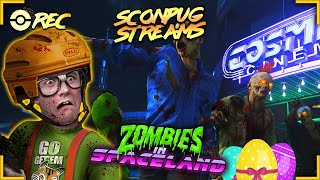 Call of Duty Infinite Warfare - Zombies in Spaceland Easter Egg attempt 1 w/ D-PLEX