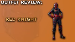 Red Knight Outfit Review - Skin Showcase! Fortnite Battle Royale