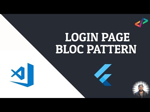 Flutter: Login Page Bloc Pattern Demo