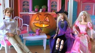 Барби спецвыпуск Хеллоуин часть 3  В доме привидение разгулялось Кукольный сериал Барби