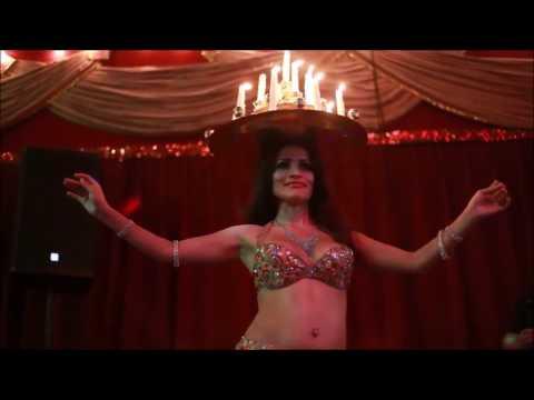 Houston Belly Dancer Haydee at Cafe Mawal