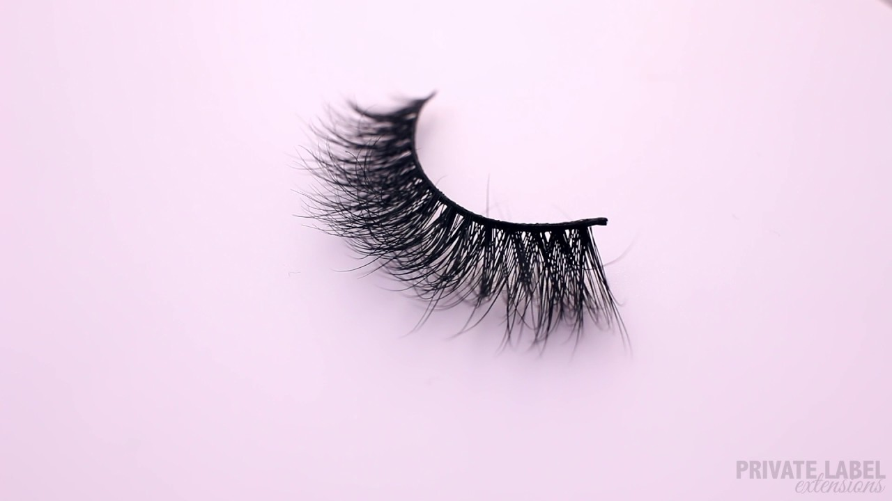 eff0eaae7ff Lola 3D Mink Eyelashes Private Label Extensions - YouTube