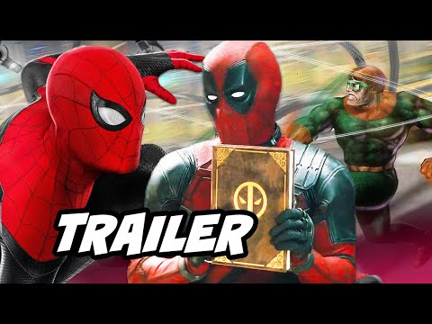 Spider-Man Far From Home Trailer - Deadpool Scene Funny Moments Breakdown