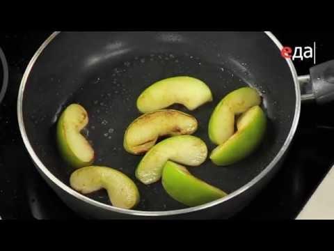 Яблоки жареные в кляре -
