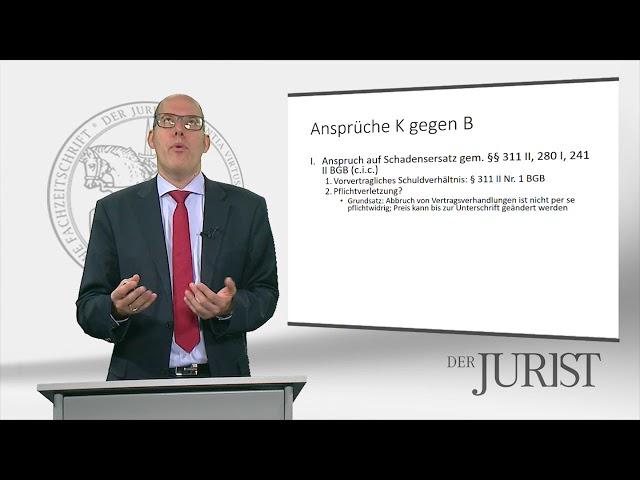 BGH Urteil: Schadensersatzanspruch bei Abbruch von Vertragsverhandlungen vor notarieller Beurkundung