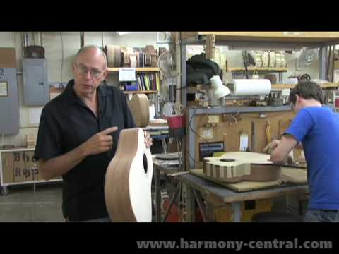 Taylor Factory Tour Part 1 of 4 - Body Construction