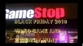Black Friday 2019 Gamestop Videogames And Wwe Figure Toy Hunt