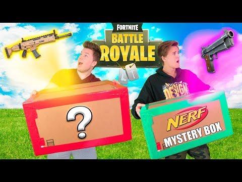 $9,999 NERF FORTNITE EBAY MYSTERY BOX 📦❓Fortnite Gear, NERF Toys & More!