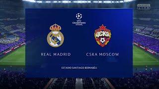 FIFA 19 REAL MADRID VS CSKA MOSCOW UEFA CHAMPIONS LEAGUE