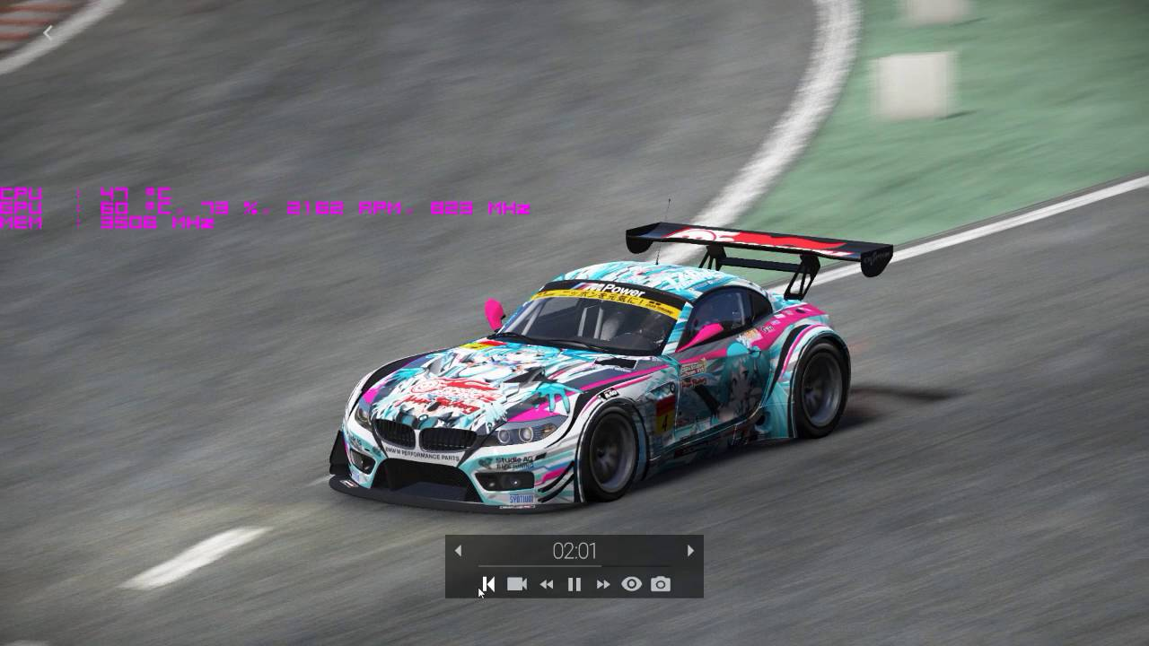 Project CARS 2013 BMW Z4 GT3 Goodsmile Racing - YouTube