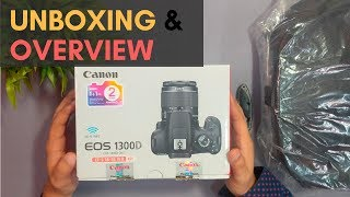 Canon 1300D Unboxing & Overview