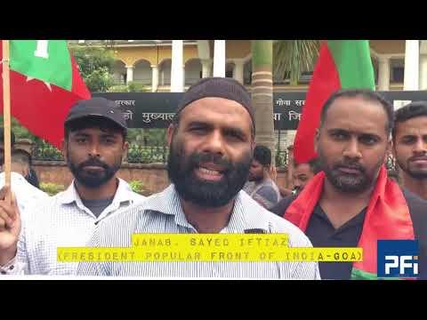 Babri Masjid Protest -Goa