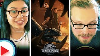 JURASSIC WORLD: FALLEN KINGDOM | FINAL TRAILER REACTION | FAN THEORY