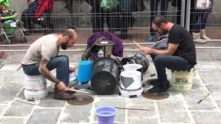 Bucket Butchers - Street drummers duo (Bologna)