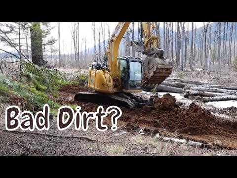 Site Excavation And Evaluation With The Kobelco160 Blade Runner