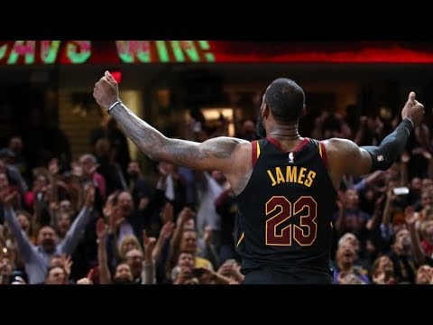 Lebron James' All Time 10 Best BUZZER BEATERS