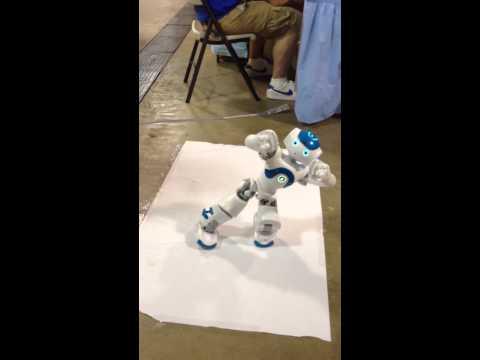 NAO Robot at Orlando Mini Maker Faire