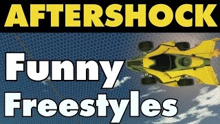 Rocket League | Aftershock Freestyles & Funny Moments!