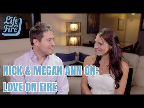 Nick Unsworth & Megan Ann on Love on Fire