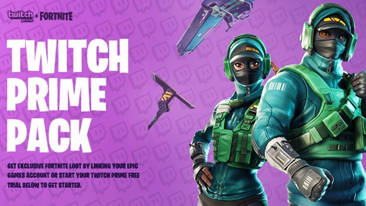 Fortnite Twitch Prime Pack 3... - YouTube