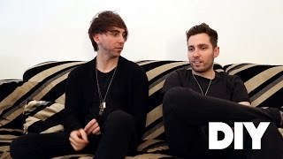 Josh Franceschi and Alex Gaskarth talk You Me At Six and All Time Low