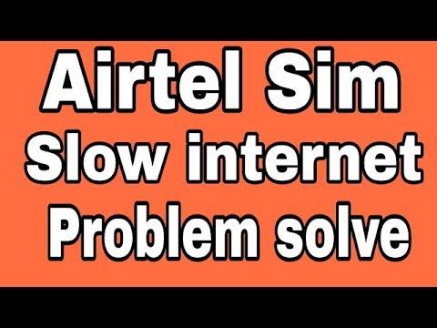 Airtel || How To Fix Slow Internet Problem Solve In Airtel Sim