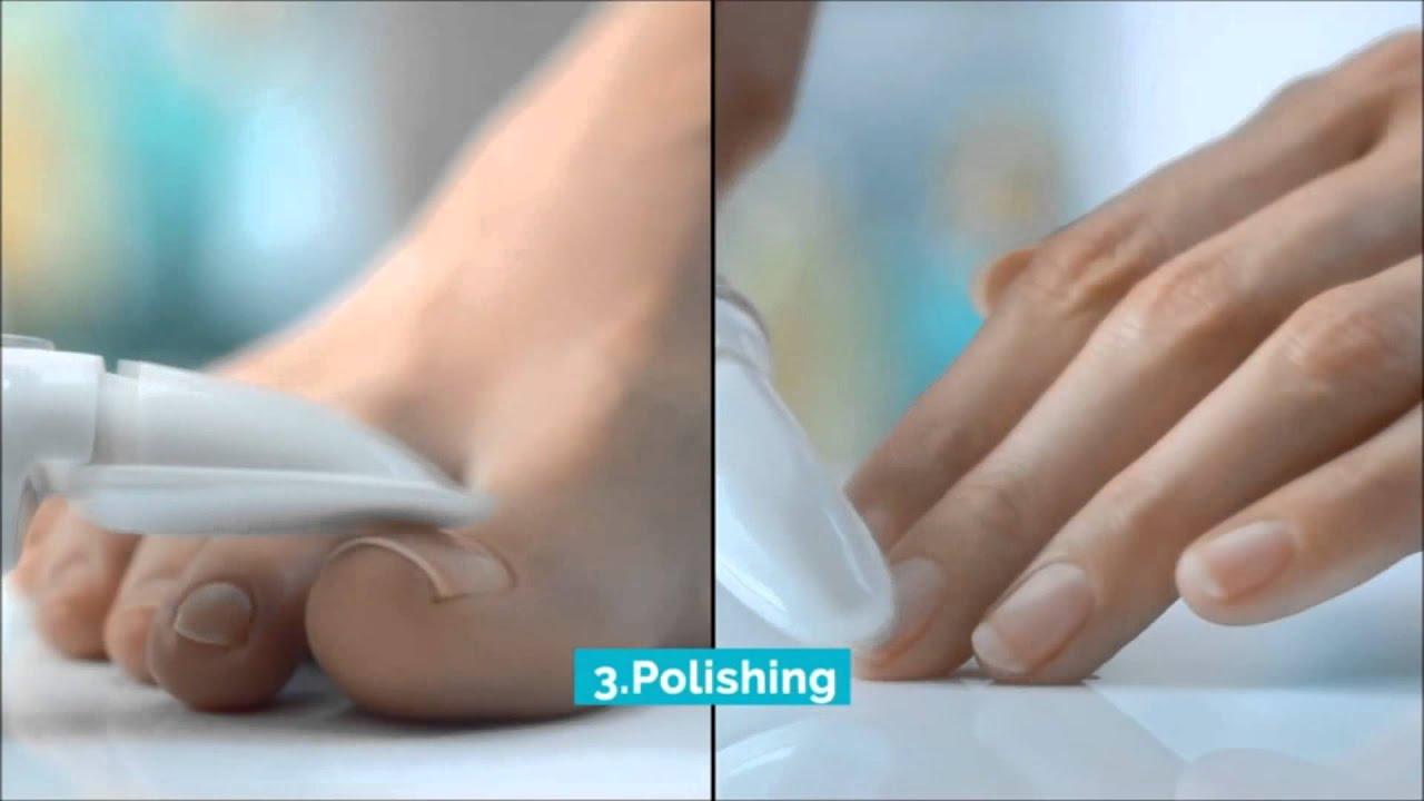 Nueva lima eléctrica para uñas Velvet Smooth - YouTube