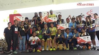 National cyclist Fauzan wins NST C-Cycle Challenge 2017