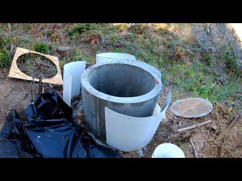 Изготовление бетонных колец. Колодец своими руками - Часть 1