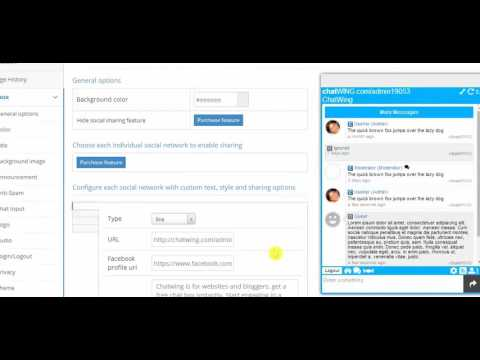 Corporate Instant Messenger - Create Chat Room For Website Comet Chat Wing