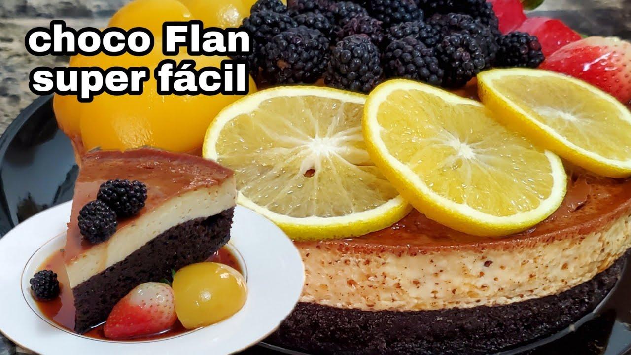 Como hacer el mejor Choco Flan o pastel imposible , super fácil ✅