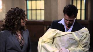 ER ''Emergency Room''  S15 - the last scene, the last trauma (including the closing credits, HD)