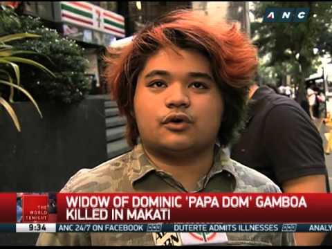 Widow of Papa Dom found dead in Makati