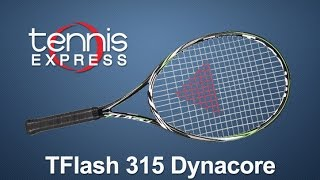 Tecnifibre TFlash 315 Dynacore Racquet Review | Tennis Express