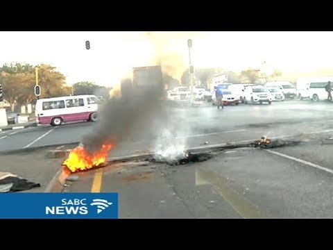 Johannesburg south protests flare up again