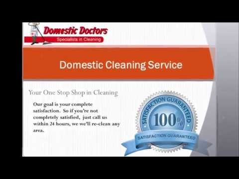 Domestic Doctors Cleaning Services Perth