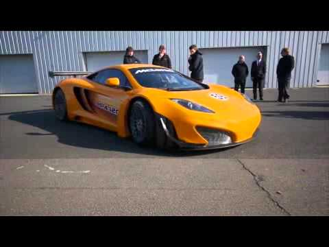 McLaren MP4-12 GT3 Breaks Cover to Complete First Tests