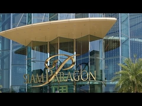Siam Paragon - สยามพารากอน - Bangkok Shopping Mall | Travel in Thailand 2016