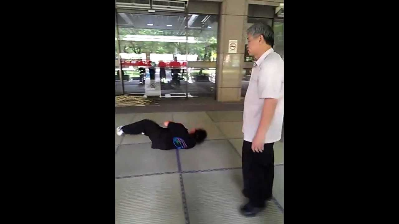 【正氣太極】發勁-掤手之交叉勁篇.mp4 - YouTube